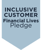 Inclusive Customer pledge logo